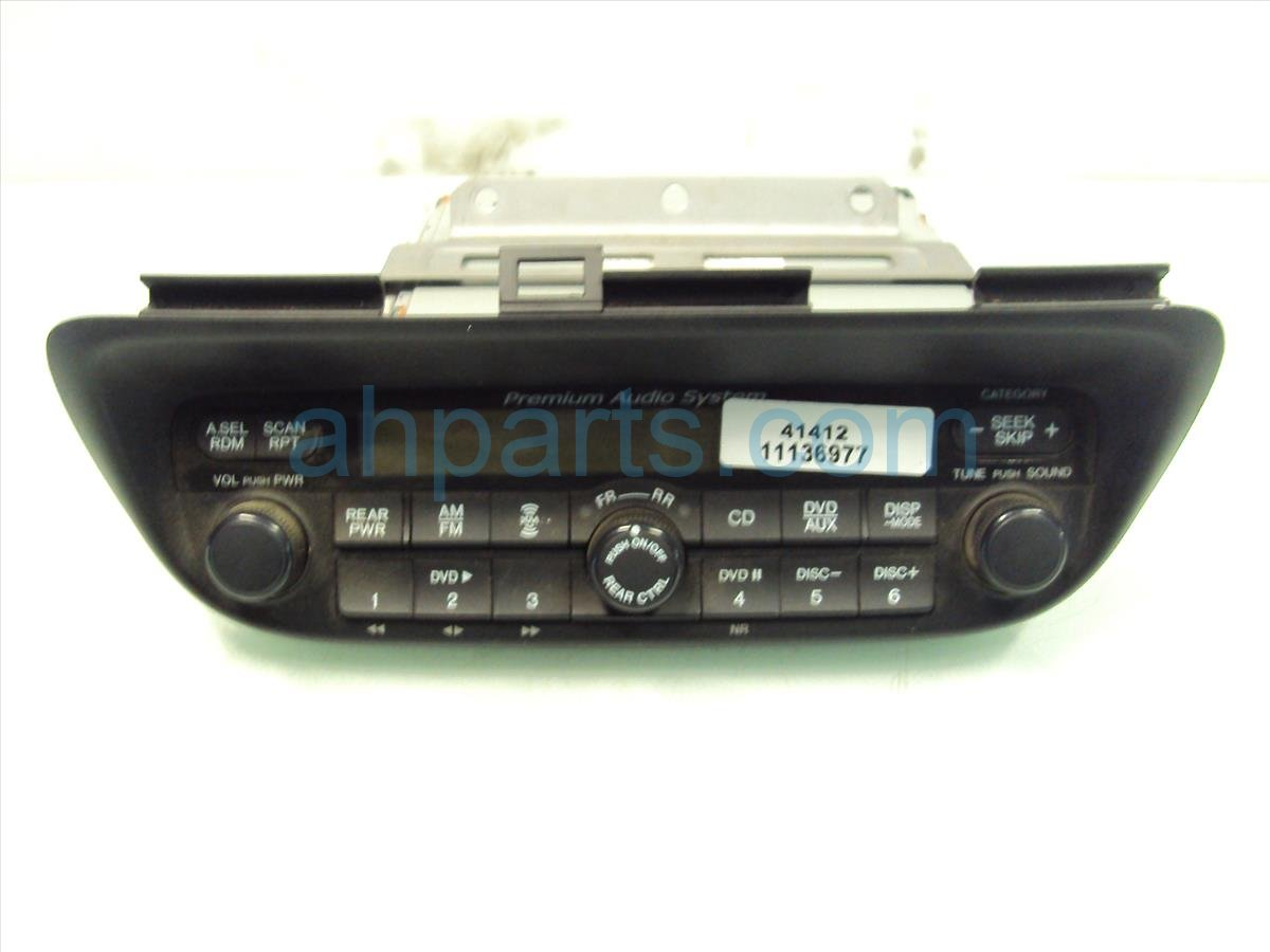 2007 Honda Odyssey RADIO CD PLAYER 39100 SHJ A90 39100SHJA90 Replacement