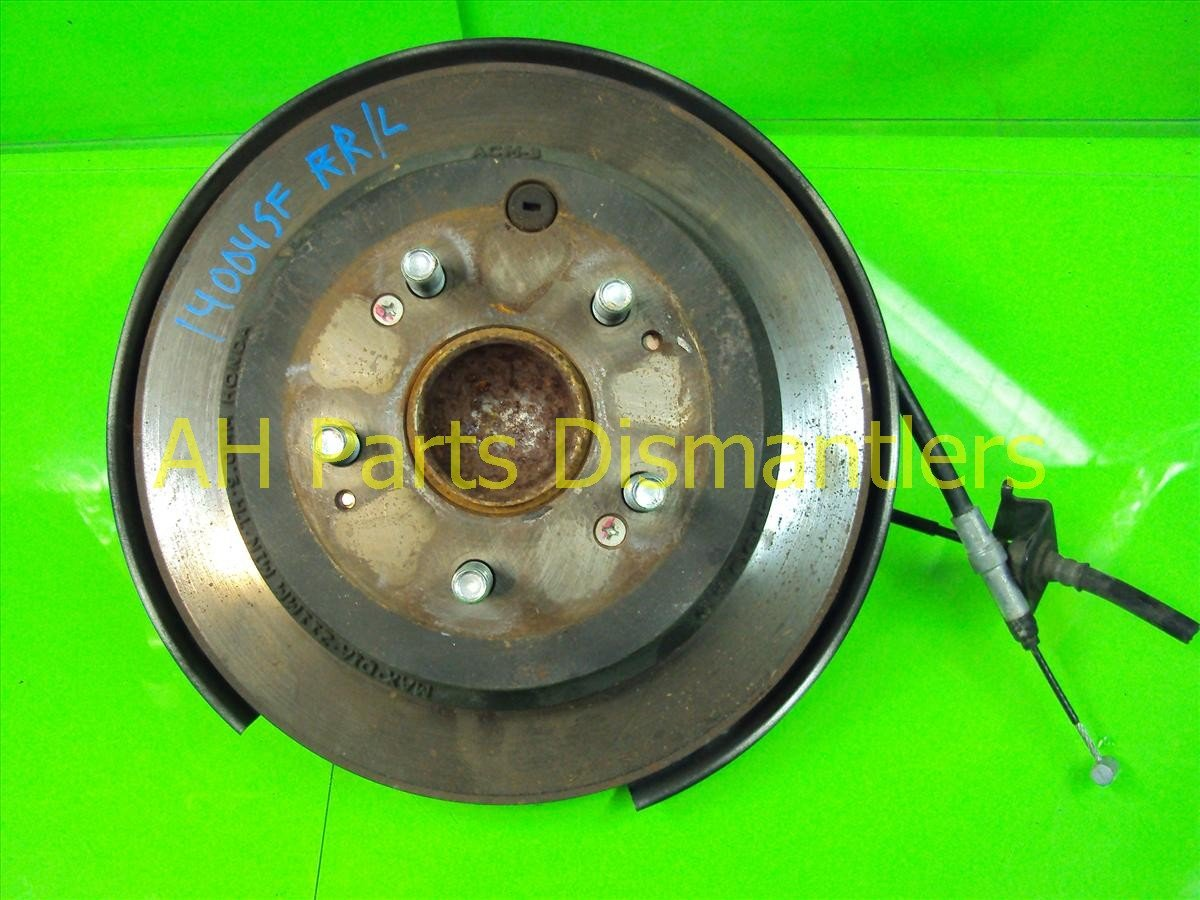 2007 Honda Odyssey Axle stub Rear driver SPINDLE KNUCKLE 52215 SHJ A00 52215SHJA00 Replacement