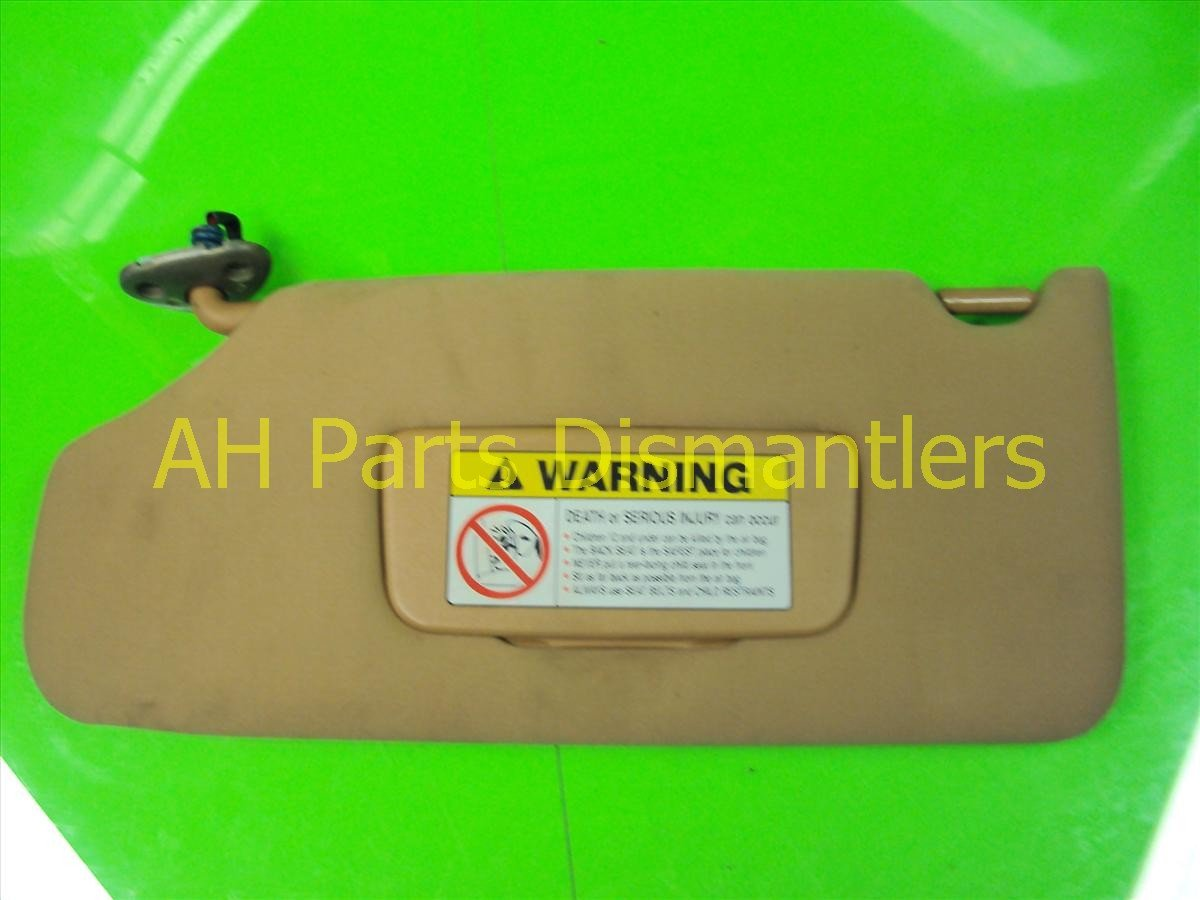2004 Acura TL Driver SUN VISOR beige Replacement