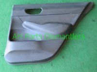 2011 Honda Civic Rear passenger DOOR PANEL TRIM LINER black 83703 SNA A02ZF 83703SNAA02ZF Replacement
