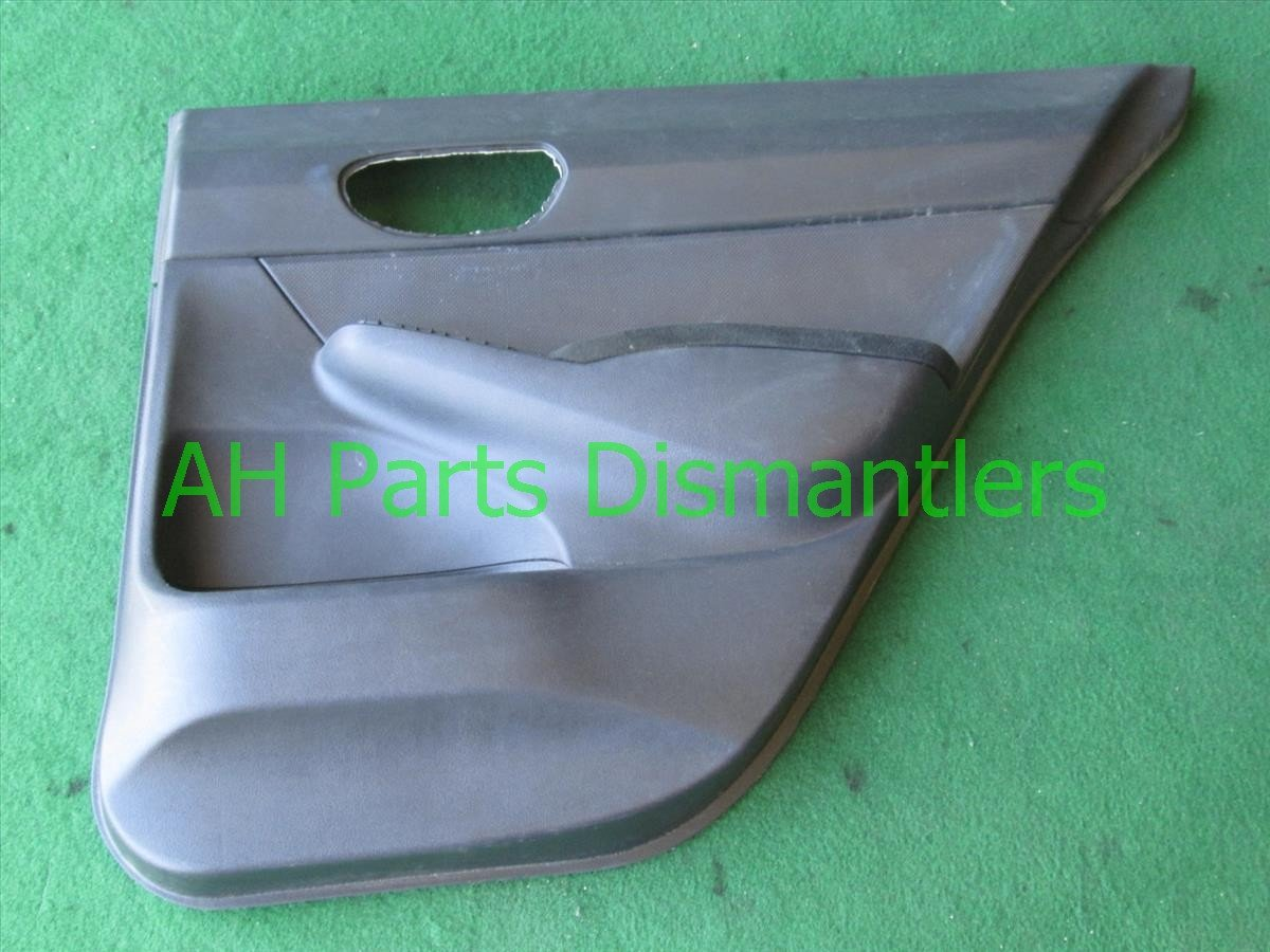 2011 Honda Civic Rear Passenger Door Panel (trim Liner) Black 83703 SNA A02ZF Replacement