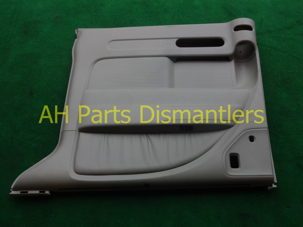 2007 Honda Odyssey Door trim panel liner Rear passenger INT DR GRAY NICE 83702 SHJ A42 83702SHJA42 Replacement