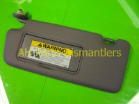 2012 Honda Civic Driver SUNVISOR GREY Replacement