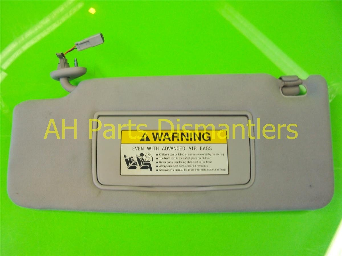 2005 Acura RL L SUN VISOR gray sags an inch down Replacement