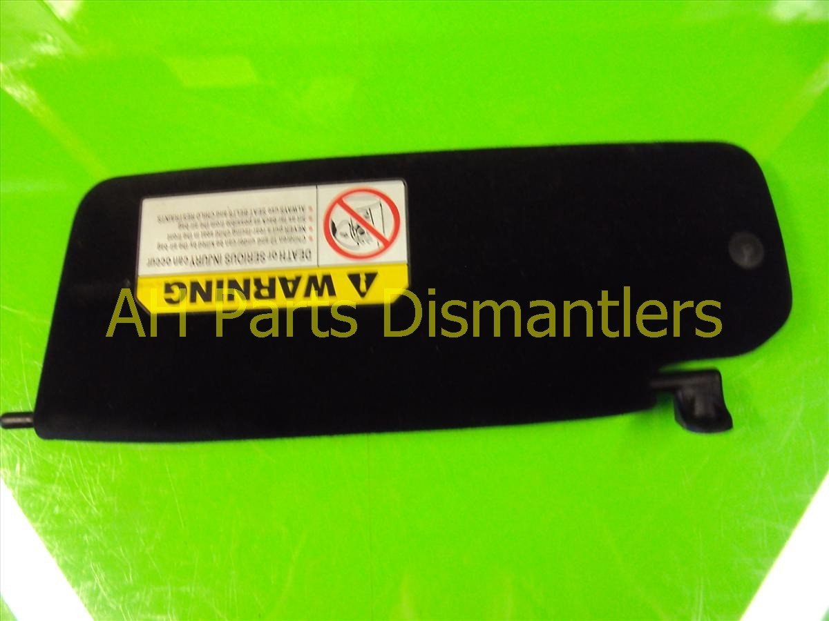 2005 Honda S2000 Driver Sun Visor, Black 83280 S2A A00ZA Replacement