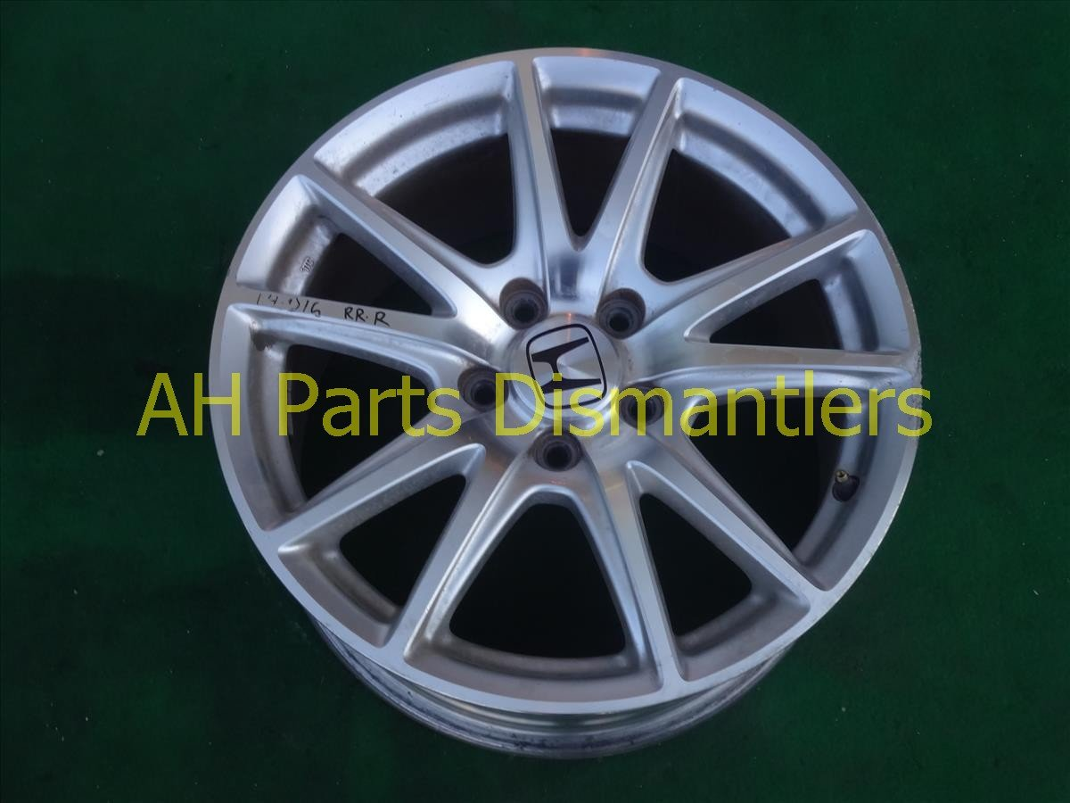 2005 Honda S2000 Rear passenger WHEEL RIM 1 edge chipped 42700 S2A A91 42700S2AA91 Replacement