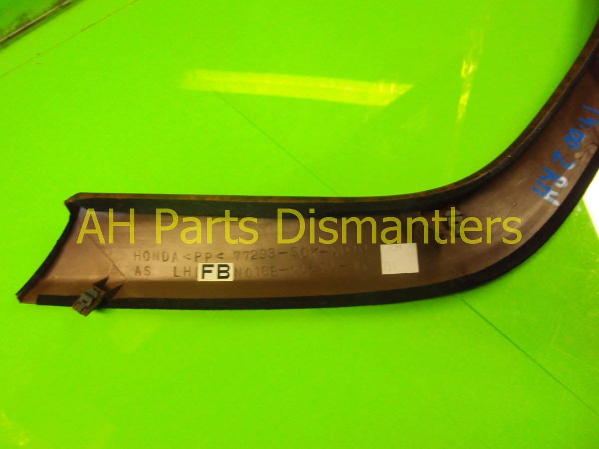 1999 Acura TL Front passenger CONSOLE GARNISH WOOD GRAIN 77293 S3M A01ZA 77293S3MA01ZA Replacement