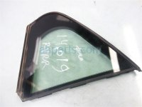 $20 Acura 4DR RR/R VENT GLASS WINDOW