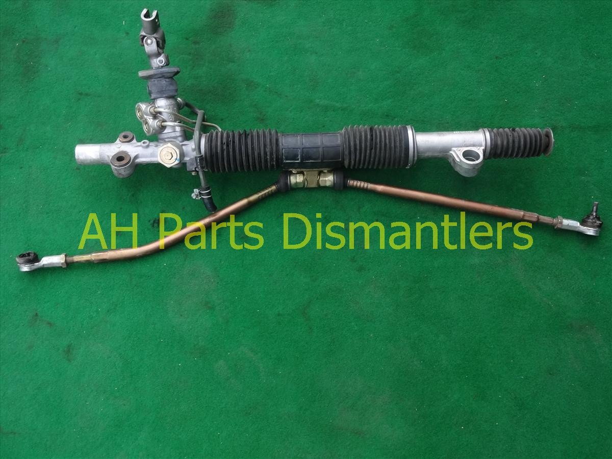 2004 Honda Civic Steering And / Gear Box Rack & Pinion, Bent Tie Rode Replacement