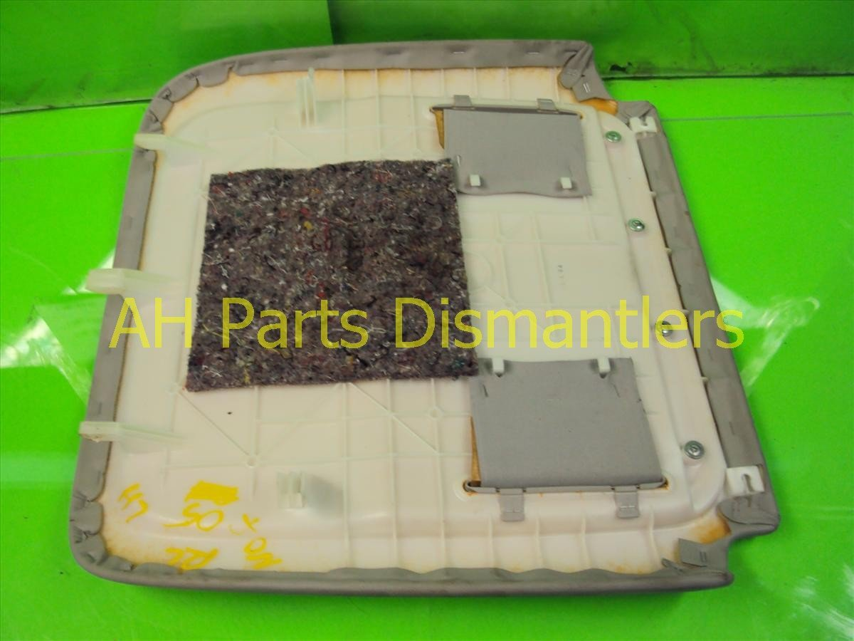 2005 Acura RL Cover 05 Rl Front Driver Seat Back Panel, Grey, Replacement