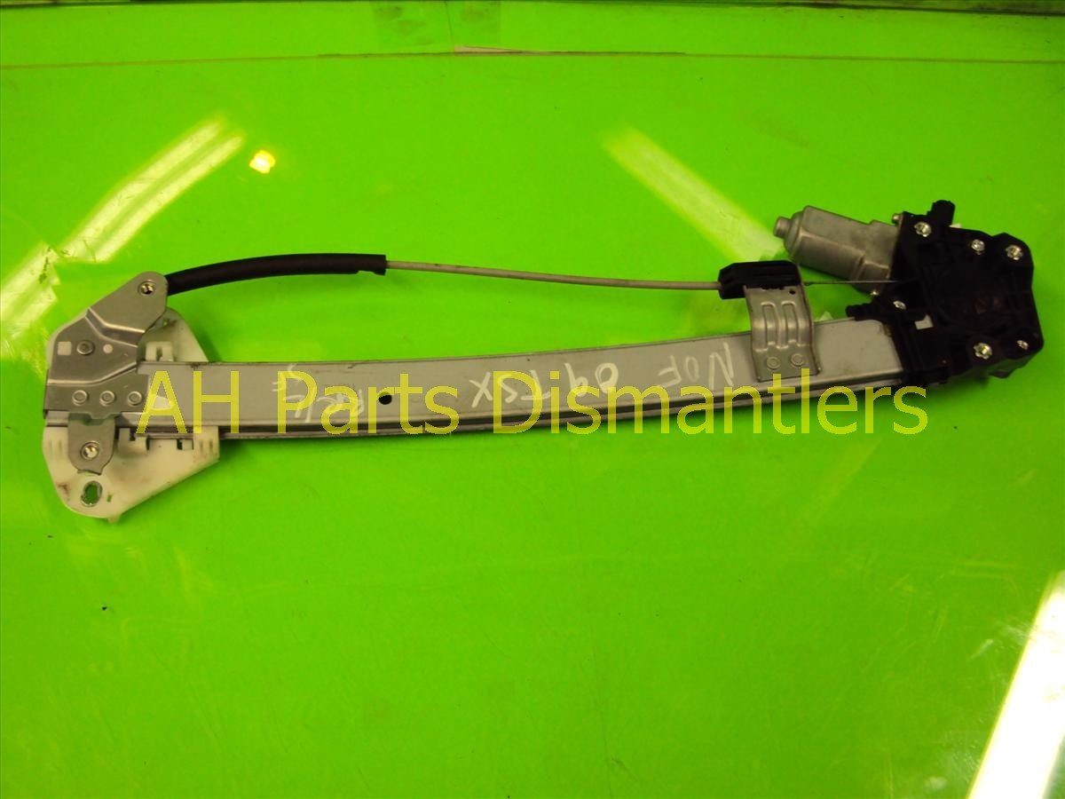 2009 Acura TSX Regulator 09 TSX Rear driver WINDOW REG Replacement