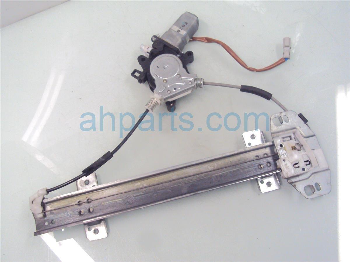 Acura RL Rear Driver Window Regulator Motor SZJ - Acura rl window regulator