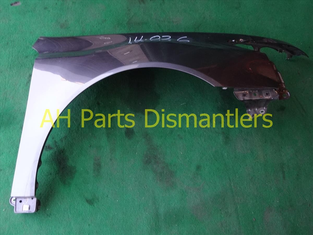 2010 Acura TL Front Passenger FENDER needs fixing 60210 TK4 A90ZZ 60210TK4A90ZZ Replacement