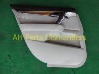 2010 Acura TL Rear driver DOOR PANEL TRIM LINER lite gr 83751 TK4 A02ZA 83751TK4A02ZA Replacement