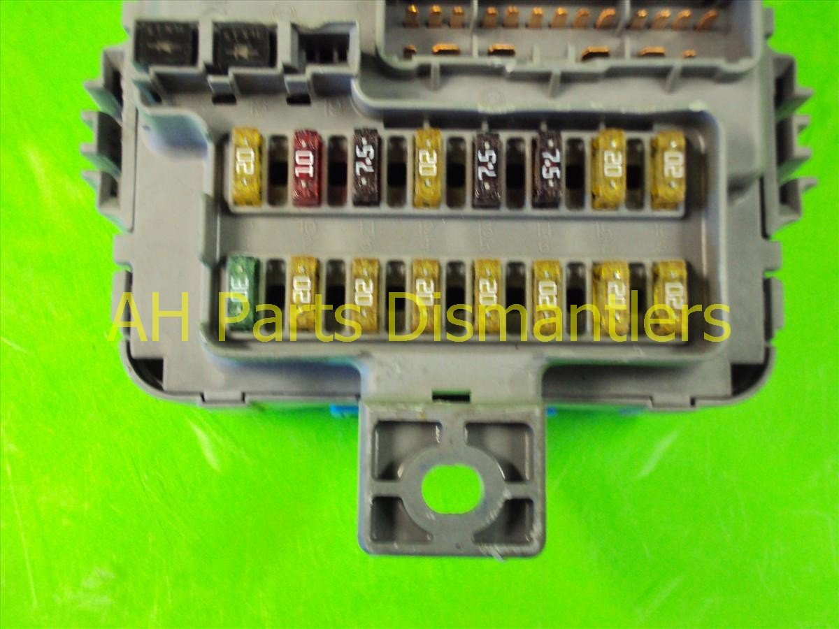 2002 Honda Accord Passenger DASH FUSE BOX V6 38210 S87 A01 38210S87A01 Replacement