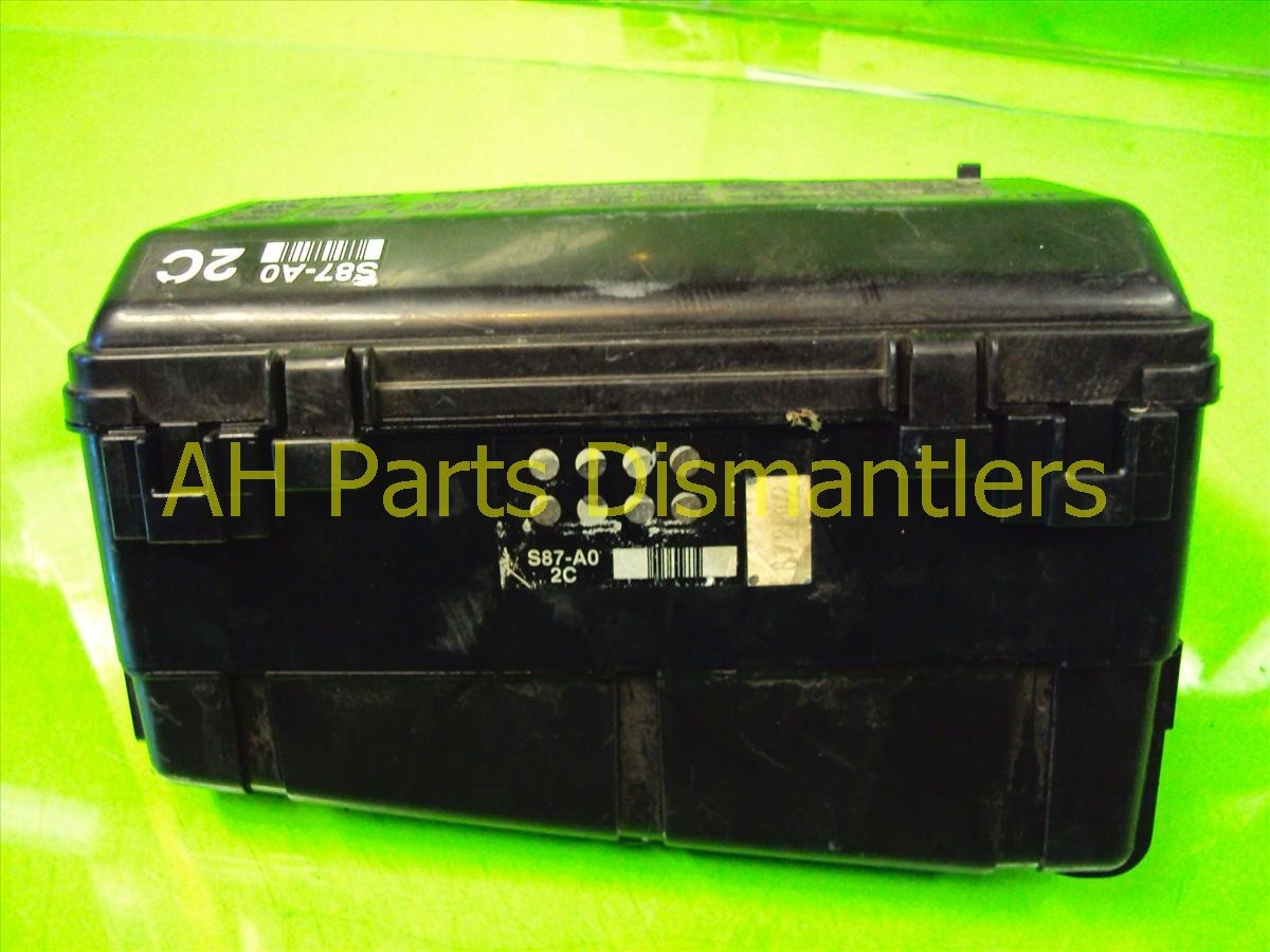 2002 Honda Accord ENGINE FUSE RELAY BOX 38250 S87 A01 38250S87A01 Replacement