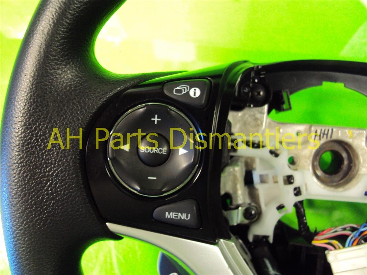 2013 Honda Civic STEERING WHEEL black small indents Replacement