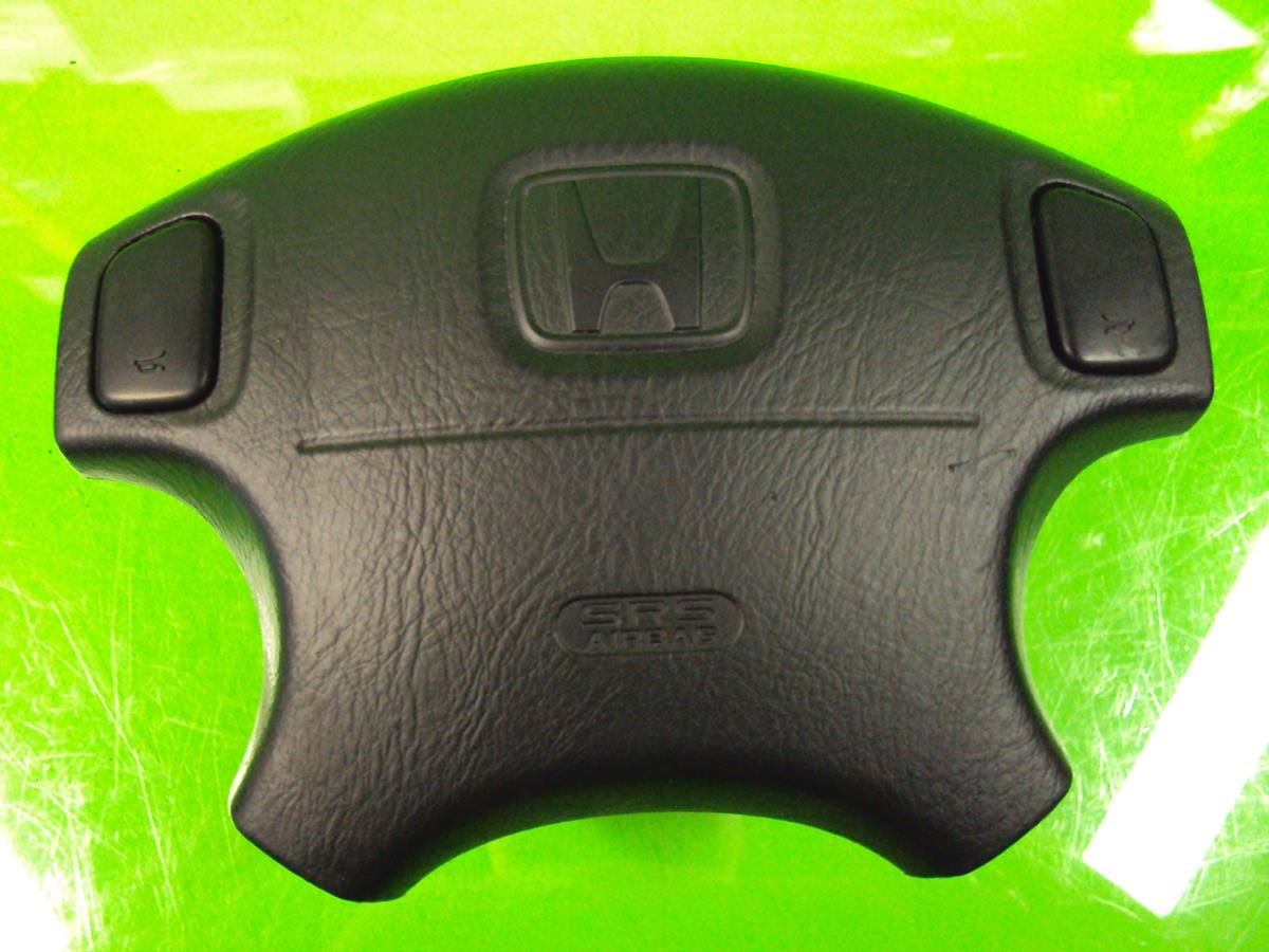 1999 Honda Prelude DRIVER WHEEL AIRBAG AIR BAG black 06770 S30 A71ZA 06770S30A71ZA Replacement