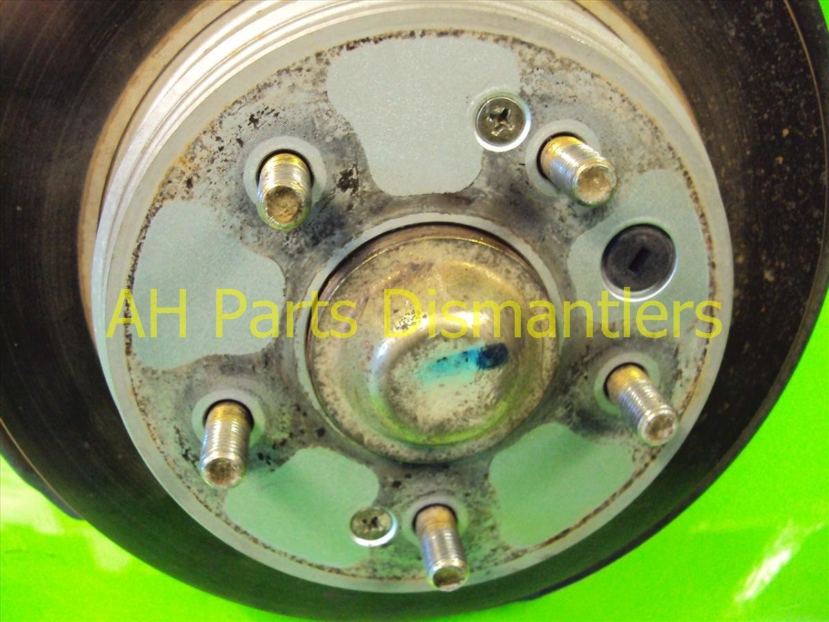 2002 Acura TL Axle stub Rear passenger SPINDLE KNUCKLE 52210 S0K A00 52210S0KA00 Replacement