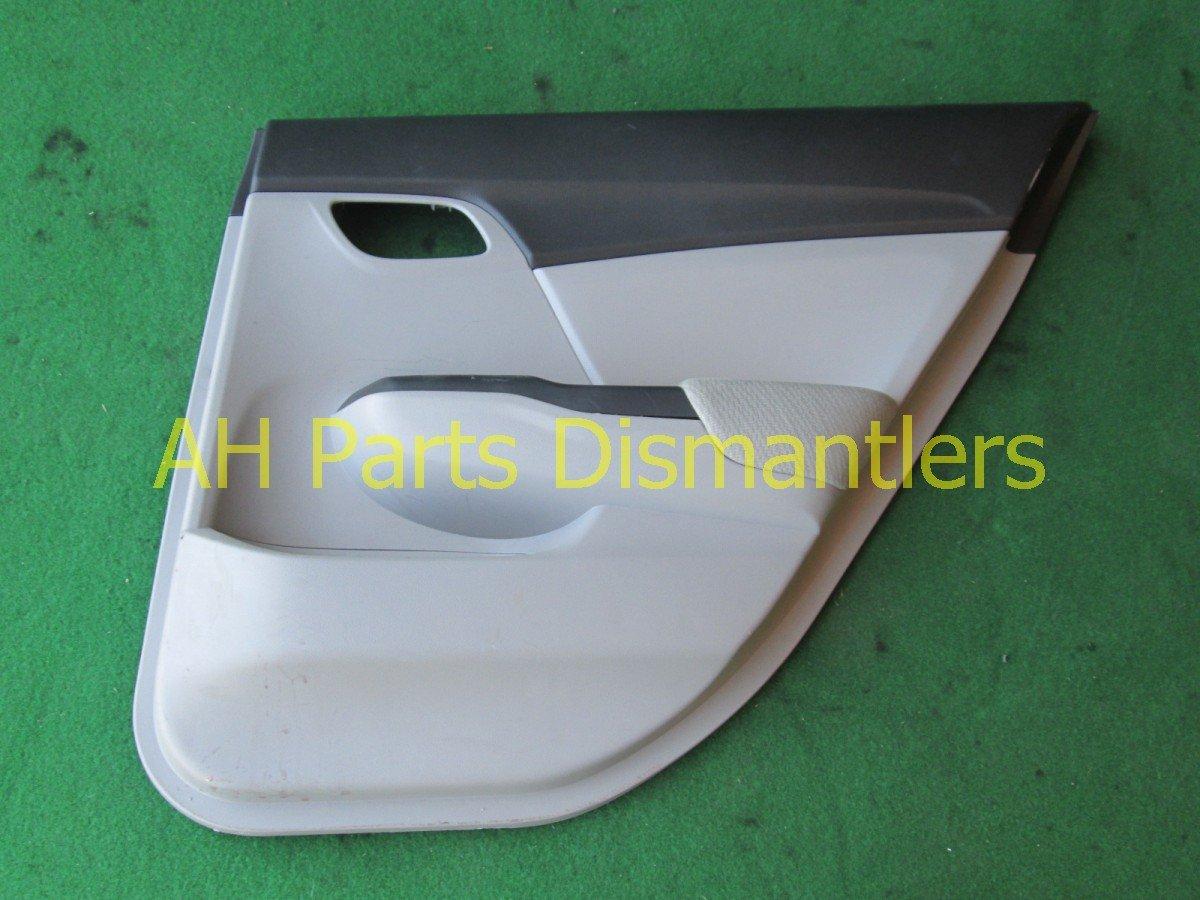 2013 Honda Civic Rear Passenger Door Panel (trim Liner) Gray Replacement