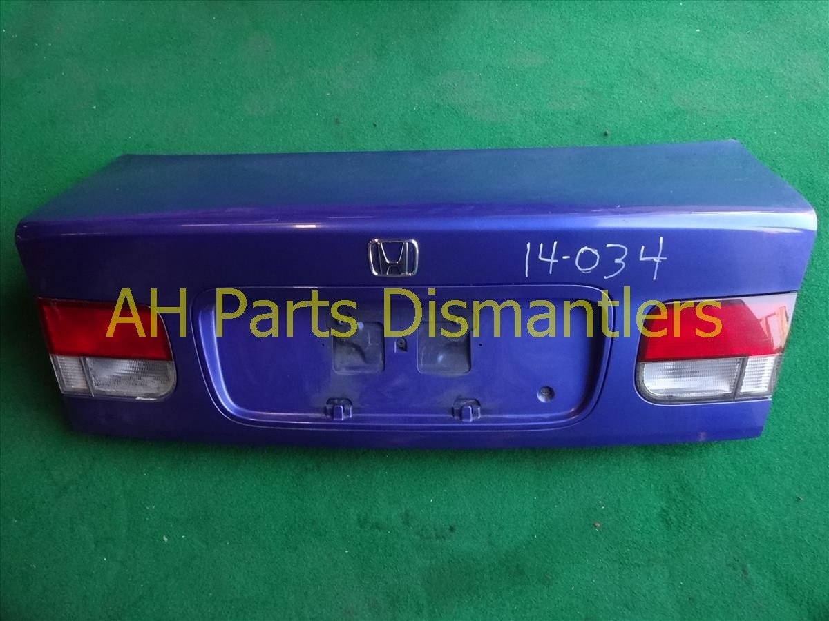 1999 Honda Civic DECK LID REAR TRUNK blue 68500 S02 A01ZZ 68500S02A01ZZ Replacement