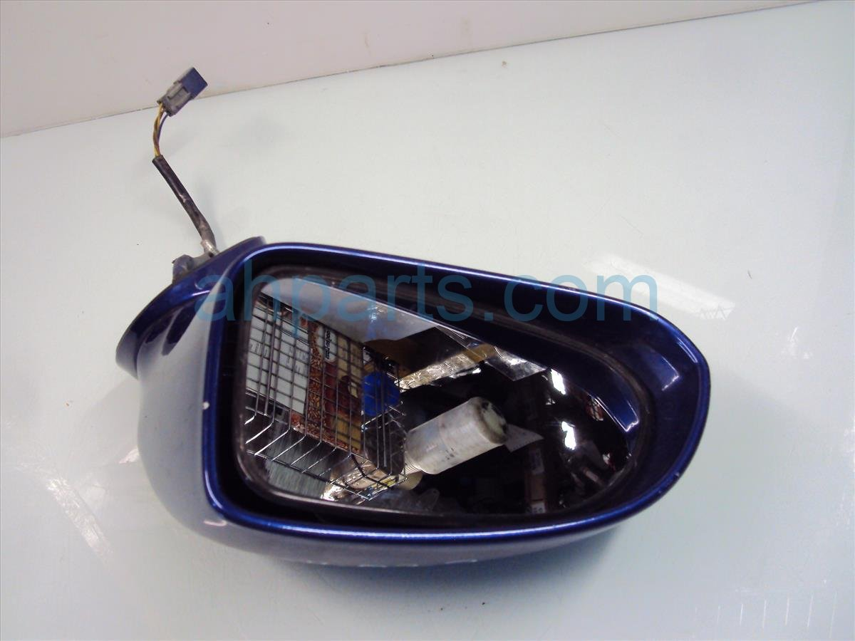 2005 Honda S2000 Driver SIDE REAR VIEW MIRROR blue 76250 S2A A02ZH 76250S2AA02ZH Replacement