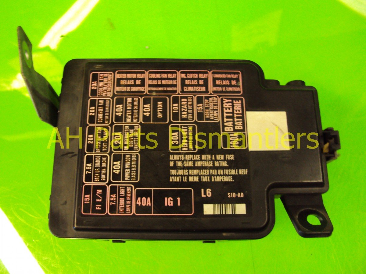 Major Fuse Box Auto Electrical Wiring Diagram Honda Cr Z Panel Archives Main Buy 2001