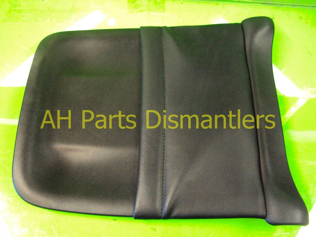 2005 Acura TSX Cover Passenger SEAT BACK PANEL BLK LEATHER Replacement