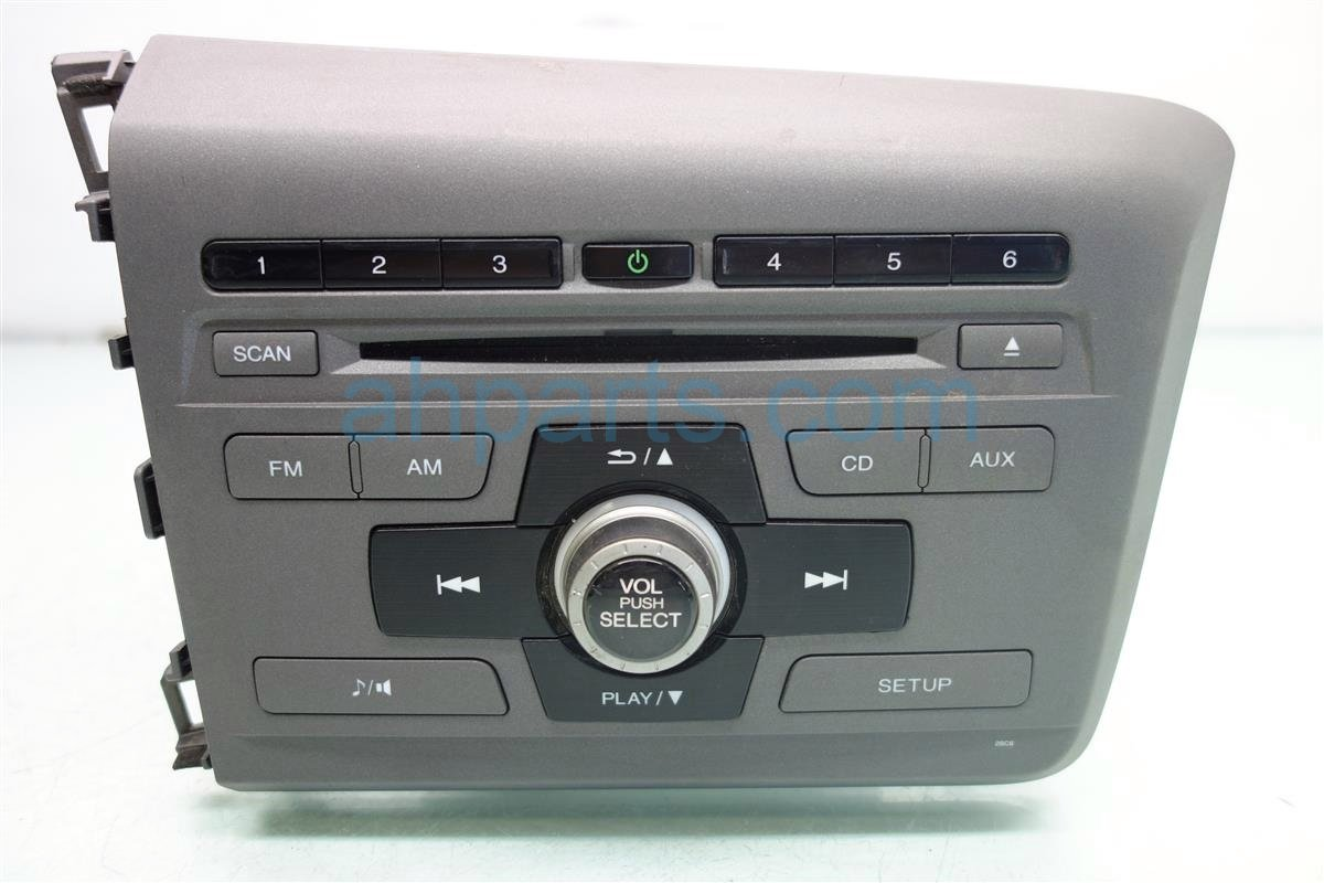 2012 honda civic am fm cd player. Black Bedroom Furniture Sets. Home Design Ideas