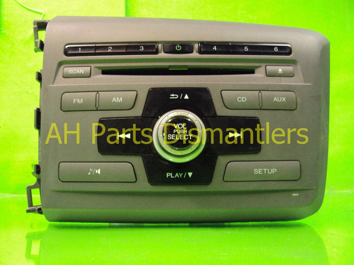 buy 125 2012 honda civic am fm cd player 74590 1 replacement. Black Bedroom Furniture Sets. Home Design Ideas
