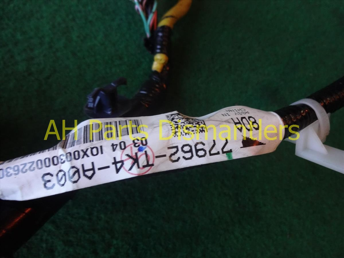 2010 Acura TL SRS FLOOR WIRE HARNESS 77962 TK4 A00 77962TK4A00 Replacement