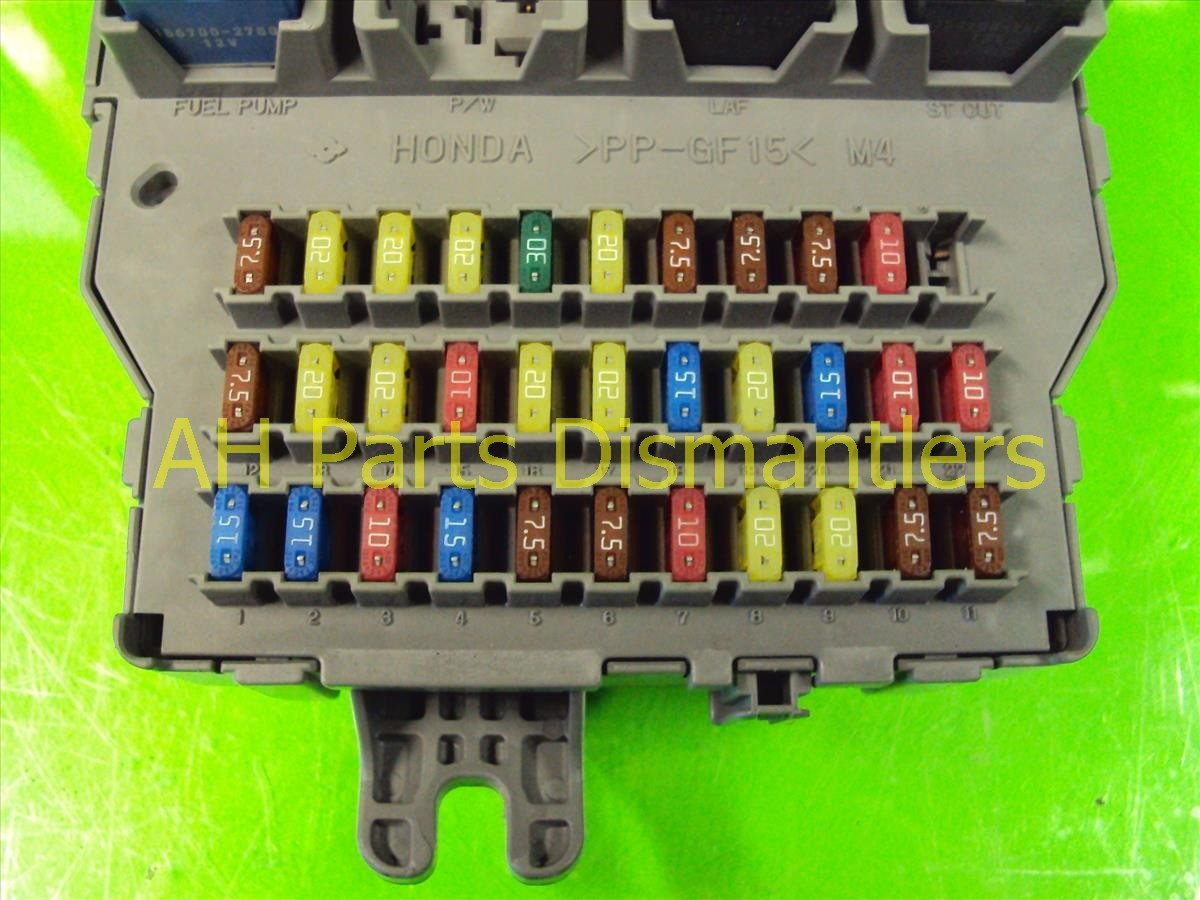 Rl Fuse Box Acura Wiring Diagrams Eaton Bussmann Series 2005 Diagram Buy Driver Dash Sja A