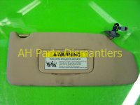 2007 Acura TL Passenger SUN VISOR tan stays up 83230 SEP A02ZC 83230SEPA02ZC Replacement