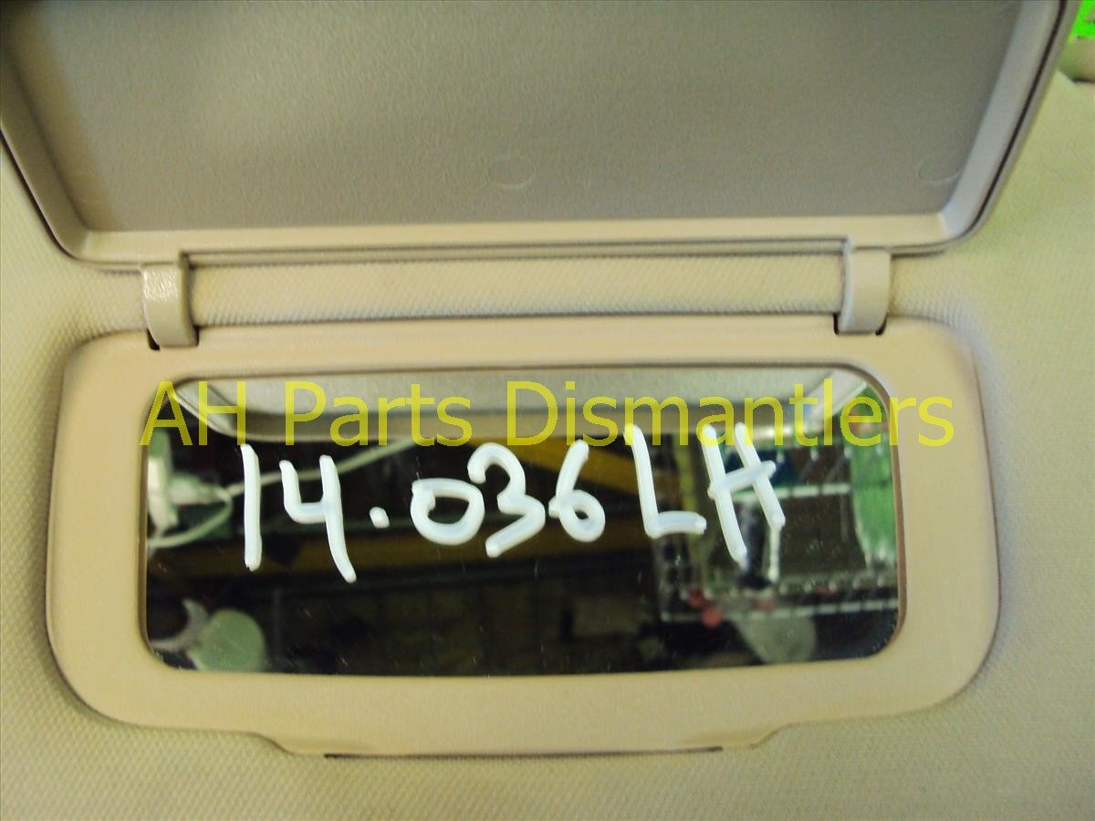 2007 Acura TL Driver SUN VISOR tan stays up 83280 SEP A02ZC 83280SEPA02ZC Replacement