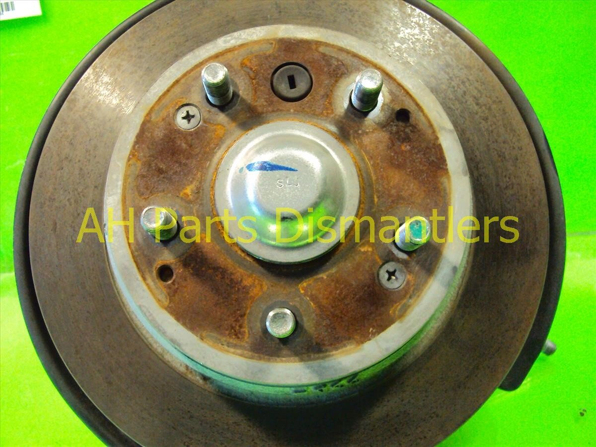 2007 Acura TL Axle stub Rear passenger SPINDLE KNUCKLE Replacement
