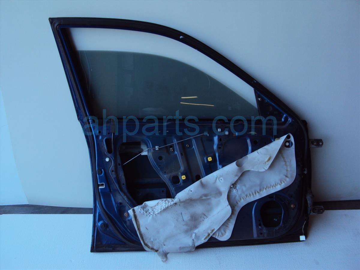2004 Honda Civic Front driver DOOR SHELL ONLY blue damage low Replacement