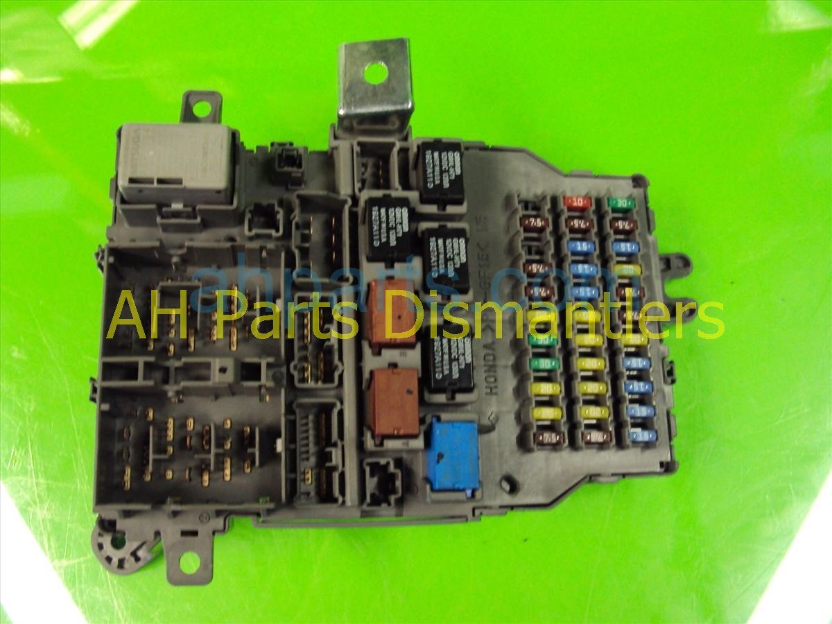 2007 Acura Tl Fuse Box Detailed Wiring Diagrams 08 Audi Q7 Dash 38200 Sep A11 Ford Escape