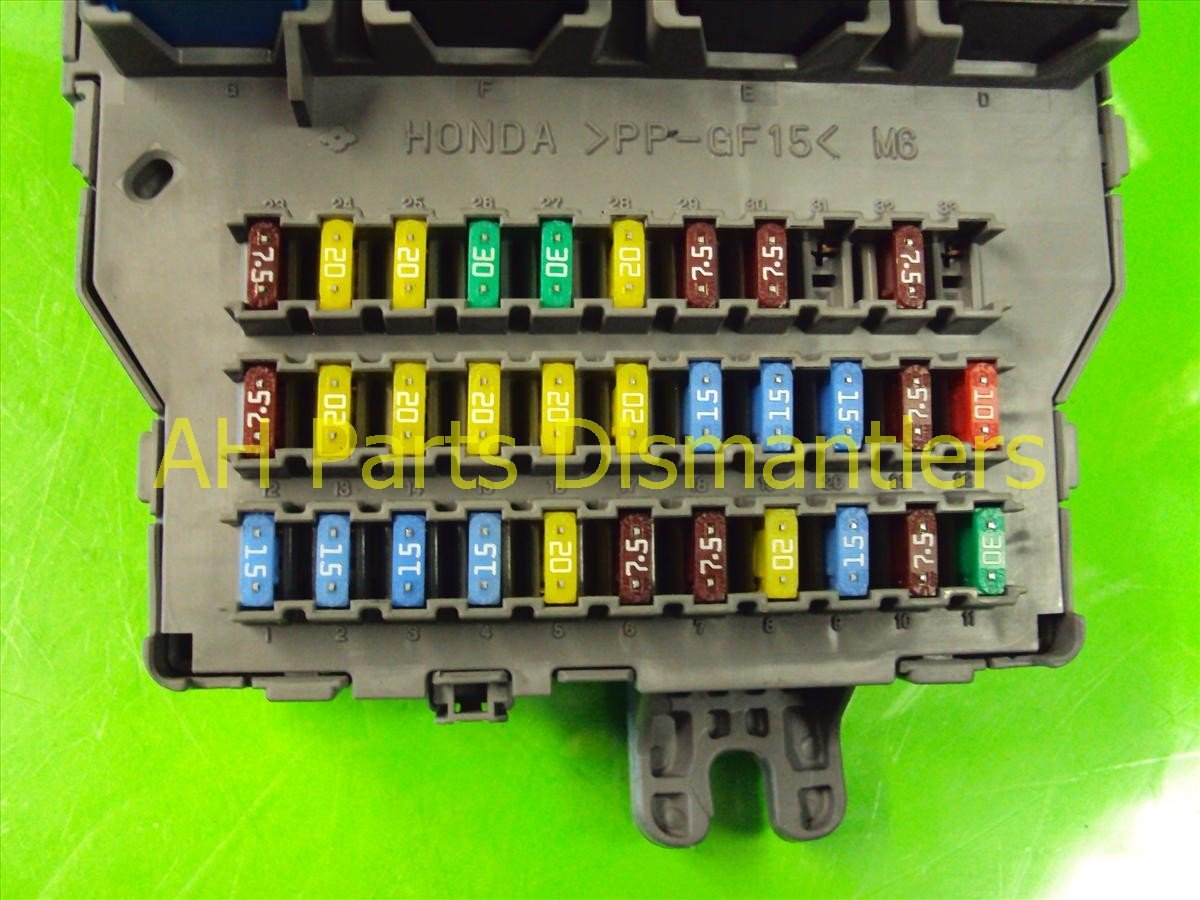 2007 Acura TL Dash Fuse Box 38200 SEP A11 Replacement
