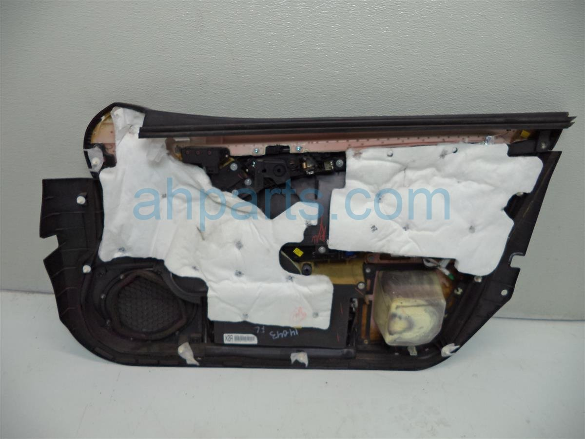 2007 Acura TL Front driver DOOR PANEL TRIM LINER Black 83586 SEP A04ZH HAS 83586SEPA04ZHHAS Replacement