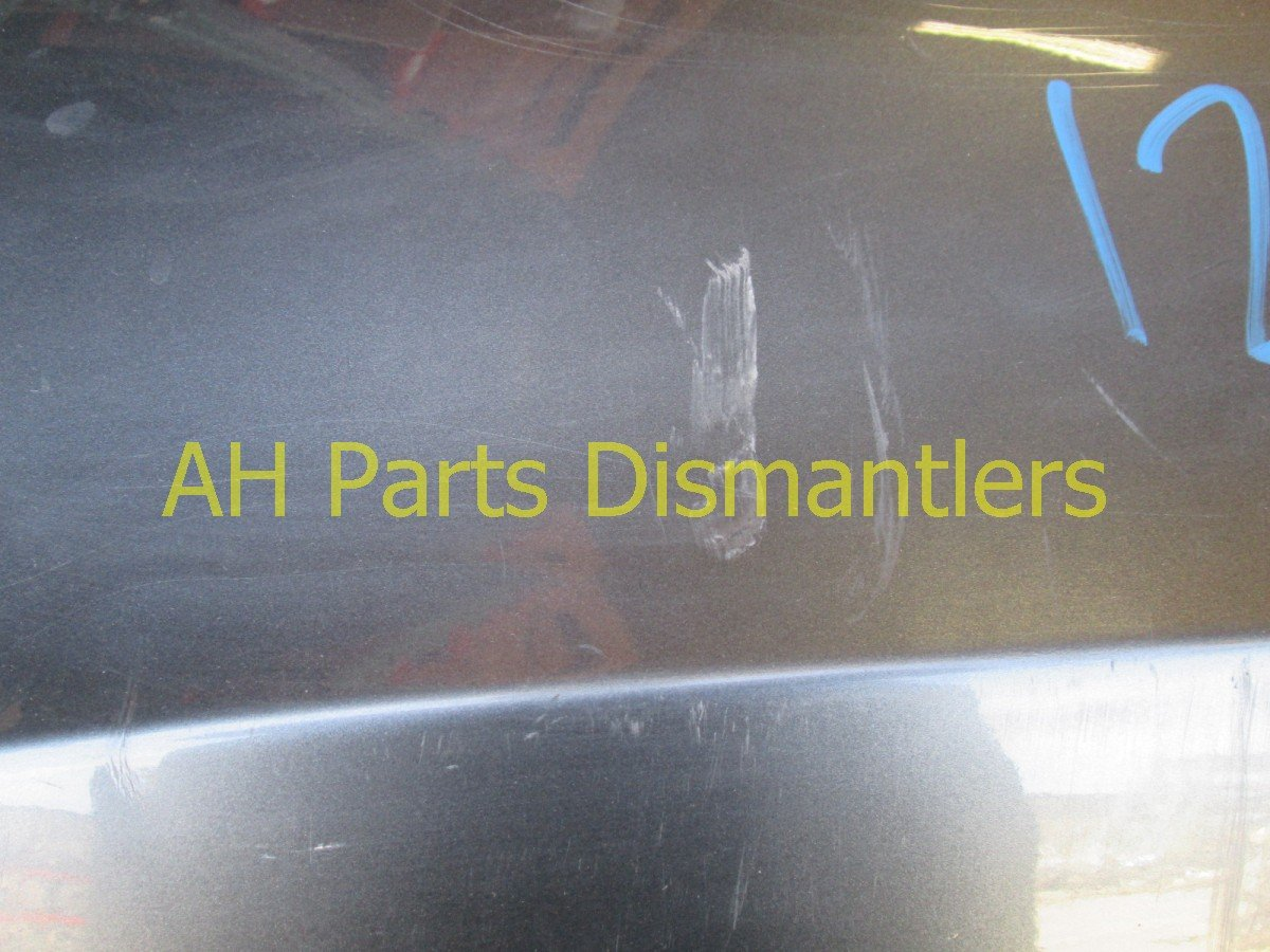 2008 Honda Accord Rear BUMPER COVER GRAY Replacement
