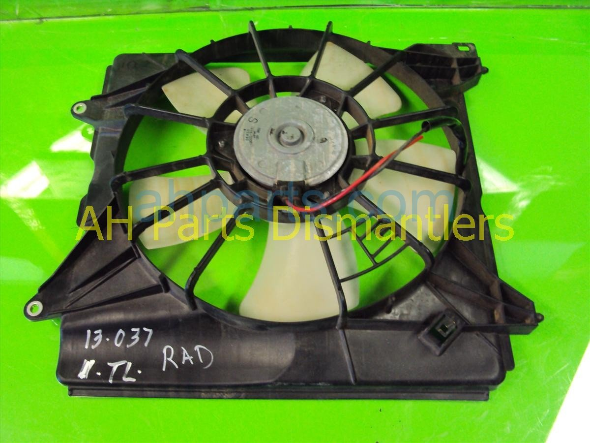 Sold 2011 Acura TSX Cooling Radiator Fan Assembly 19030 R74 003 Replacement