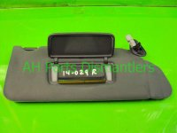2002 Acura TL Passenger SUNVISOR GRAY Replacement