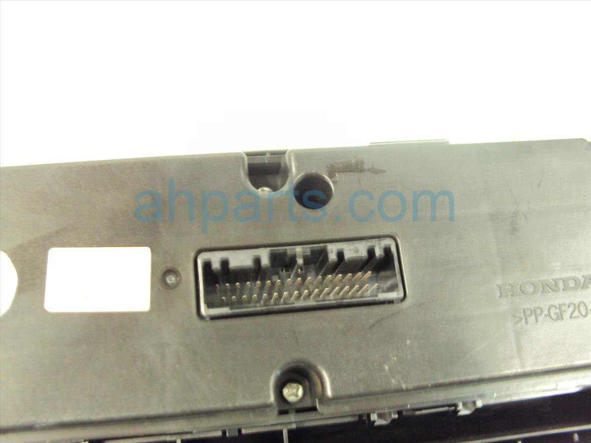 2012 Honda Civic Temperature Climate HEATER AC CONTROL ON DASH Replacement