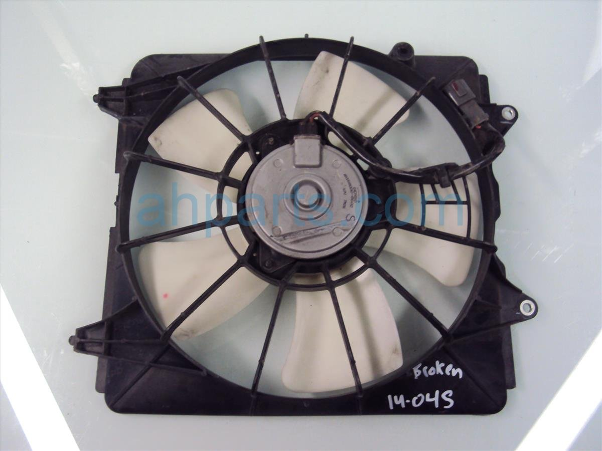 2010 Honda Civic Cooling RADIATOR FAN 19020 RCJ A01 19020RCJA01 Replacement