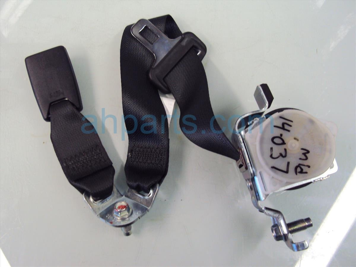 2013 Honda Accord Rear RR M SEAT BELT AND BUCKLE 04826 T2F A00ZC 04826T2FA00ZC Replacement