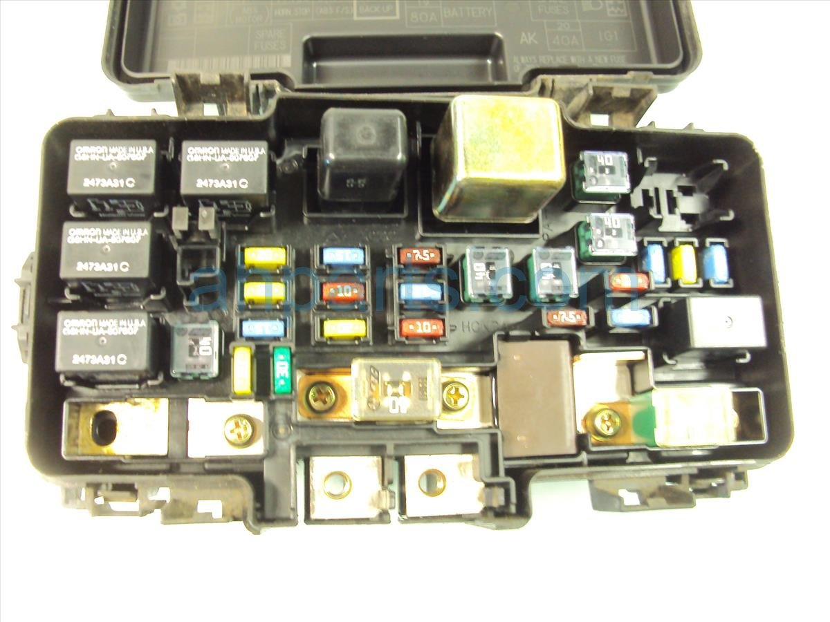 Honda civic fuse box price