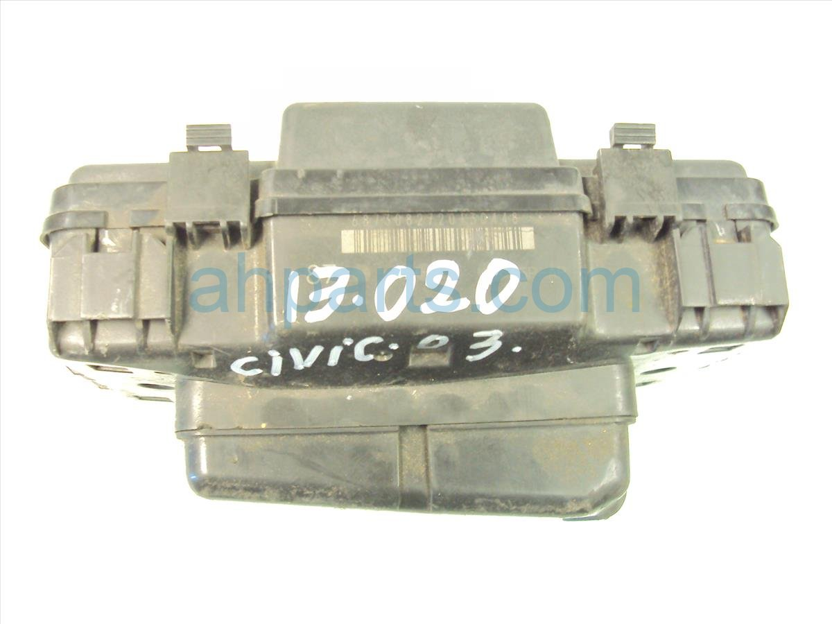 ... 2003 Honda Civic Engine Fuse Box 38250 S5P A11 Replacement ...