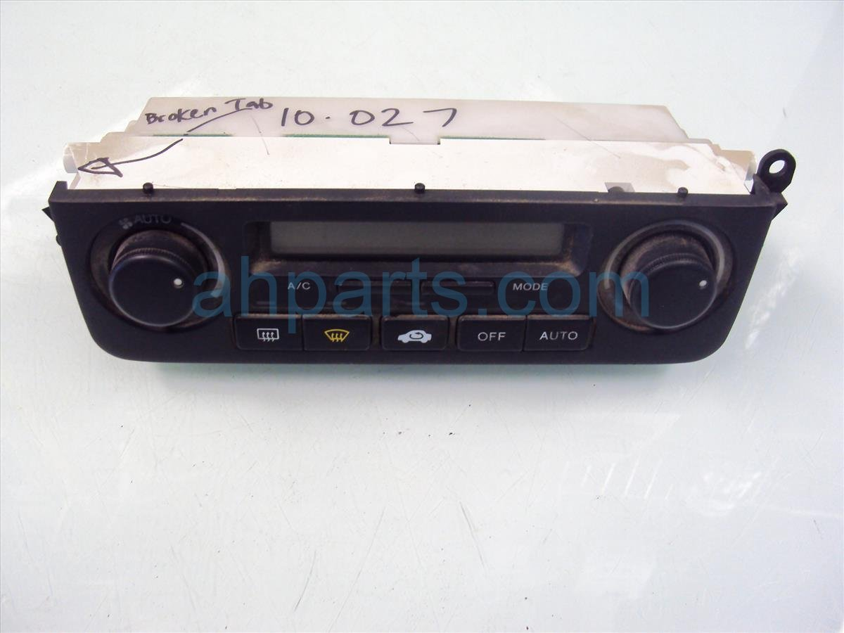 2002 Acura RL Temperature / Ac Heater Climate Control Navi Model 79600 SZ3 L02ZB Replacement