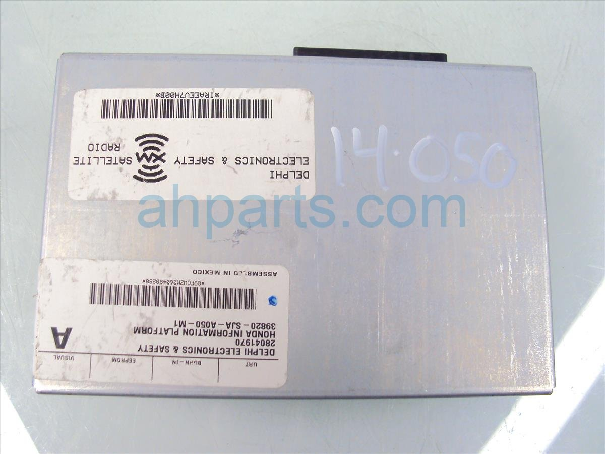 2006 Acura RL Xm Unit 39820 SJA A06 Replacement