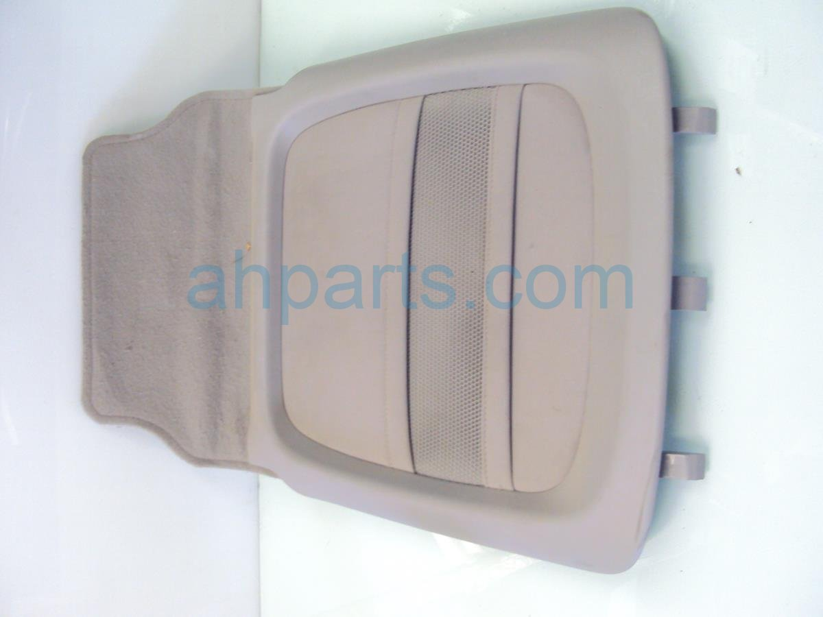 2010 Honda Pilot Cover Front passenger SEAT BACK PANEL gray leather 81128 SZA A01ZC 81128SZAA01ZC Replacement